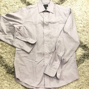 Like New Jos A Bank Lilac Dress Shirt